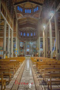 Nave central Catedral de Jerico Antioquia Colombia DRA