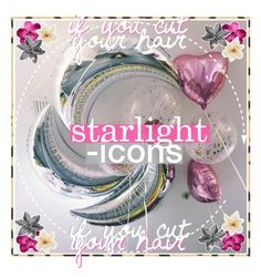 """☾STARLiGHT-iCONS CONTEST ENTRY THREE"" by siamesecat-1 ❤ liked on Polyvore featuring art and starlight2k"