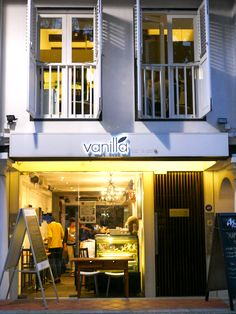 vanilla bar & cafe | singapore