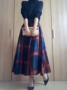 Pin on 洋服 60 Fashion, Hijab Fashion, Fashion Outfits, Womens Fashion, Fashion Design, Casual Fall Outfits, Classy Outfits, Japanese Fashion, Korean Fashion
