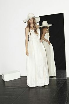 Katharine Polk Houghton Bride- Wedding dress