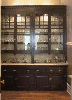Historic built in pantry