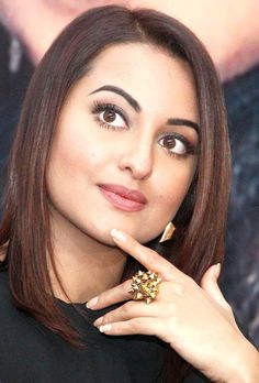 What is Sonakshi Sinha thinking? Seen here an event to promote 'Action Jackson'.