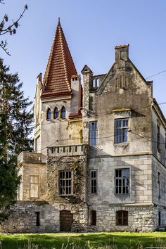 Timelman's Manor - a picturesque mini-palace located in Lychkivtsi, Ternopil region, Ukraine