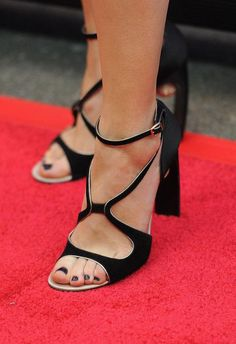 Classic nail polish shade: Black