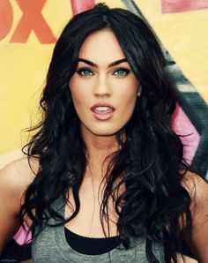 And I just gotta say, Megan Fox is gorgeous. Her eyes are amazing. Soo jelly of them! :p #beauty #hair