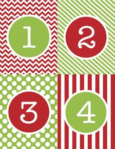 6 Best Images of Free Printable Christmas Numbers - Free Printable Advent Calendar Numbers, Free Printable Christmas Advent Numbers and Free Printable Christmas Calendar Numbers Christmas Countdown, Christmas Calendar, Noel Christmas, Christmas Crafts, Xmas, Grapevine Christmas, Rustic Christmas, Countdown Calendar, Kids Calendar