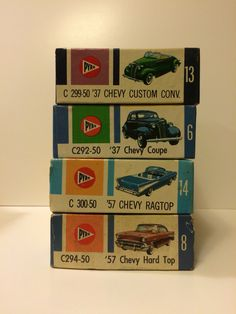 Pyro 1/32 scale Chevy model kits