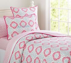 Tory Quilted Bedding #pbkids