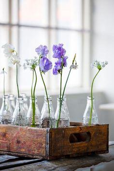 14x inspiratie voor bloemen in flessen