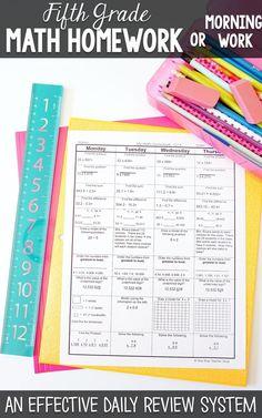 one stop teacher shop blog spiral math homework to reinforce the rh pinterest com