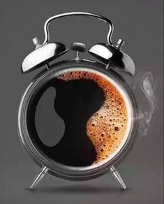 Yep, it's Coffee Time! Ring-a-ding-ding⏰ Big Cup Coffee - best coffee pictures - Coffee Is Life, I Love Coffee, My Coffee, Coffee Beans, Morning Coffee, Coffee Mugs, Coffee Cafe, Coffee Humor, Coffee Quotes