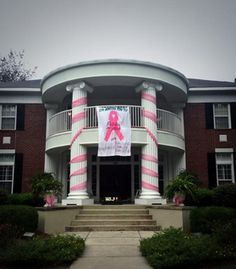 Zeta Xi Chapter (Georgia Southern University) is showing its pink spirit!