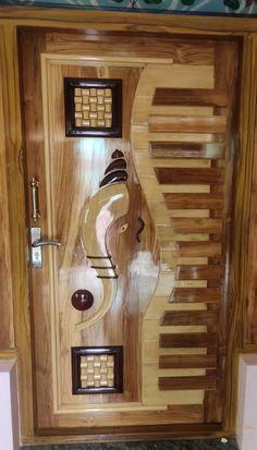Pooja Room Door Design, Door Design Interior, Window Design, Wooden Front Door Design, Wooden Front Doors, Bedroom False Ceiling Design, Design Bedroom, Bed Furniture, Furniture Design