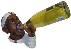 Basketball Fan Wine Bottle Rack Holder