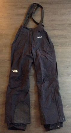 The North Face Hyvent Suspender Snow Pant Coveralls Womens Sz S / | eBay