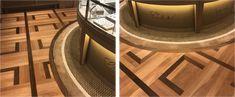 A modern, elegant and exclusive flooring pattern from RenaissanceParquet at  Chopard BoutiqueMelbourne. #Luxury #InteriorDesign  #HardwoodFloors #renaissanceparquet