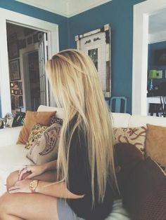 "Super Gorgeous Bleach Blonde extensions | 26"" Remy Clip in Human Hair | £59.99 | Shop Now: http://www.cliphair.co.uk/26-Inch-Full-Head-Remy-Clip-in-Human-Hair-Extensions-Bleach-Blonde-613.html"