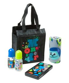 Look what I found on #zulily! Monsters Inc Diaper Tote Gift Set #zulilyfinds