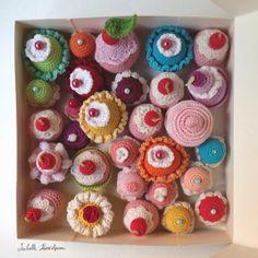 Des gâteaux au crochet - Isabelle Kessedjian