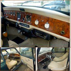 l'intérieur de la superbe MINI de William (de Paris !) Mini Cooper Classic, Mini Cooper S, Classic Mini, Classic Cars, My Dream Car, Dream Cars, Fiat 500, Old Key Crafts, Morgan Cars