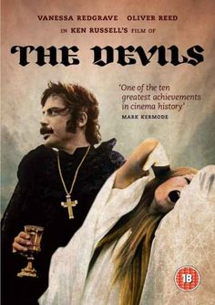 Ken Russell's The Devils - I recommend the Euro Cult all-region dvd version if you can find it, otherwise it's only on region 2 format or NTSC vhs.