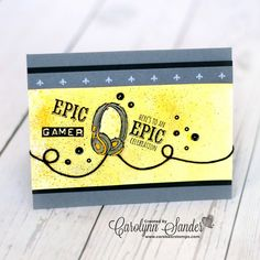 I love this card! Made using Epic Celebrations by Stampin Up!
