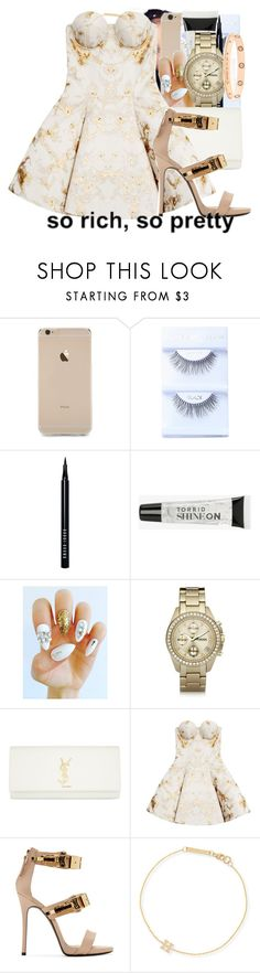"""""""fashion killa"""" by thaofficialtrillqueen ❤ liked on Polyvore featuring Bobbi Brown Cosmetics, Torrid, FOSSIL, Yves Saint Laurent, Josh Goot, Giuseppe Zanotti, ZoÃ« Chicco and Cartier"""