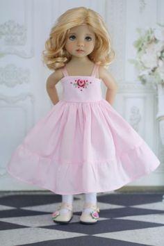 "Smocked-Dress-Ensemble-Effner-13""-Little-Darling-by-Doll-Heirloom-Designs"