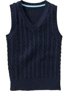 Girls Uniform Sweater Vests | Old Navy