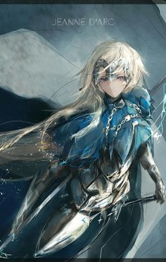 Fate/Apocrypha || Fate/ Grand Order || Jeanne d'Arc (Ruler) || by @marurumoru on Twitter