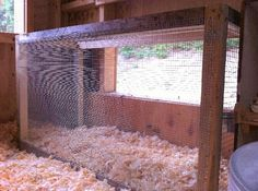 A Chicken Safe Place:  DIY Instructions