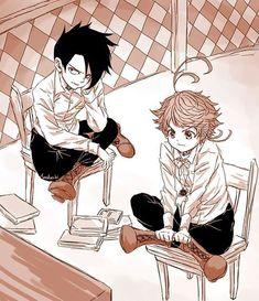 181129 [FAMILY😭✨] they so cute uwu credit to artist Ayakashi ______ Manga Pictures, Some Pictures, Norman, Manga Anime, Good Manga, Manga Reader, Neverland, Anime Couples, Illustration Art