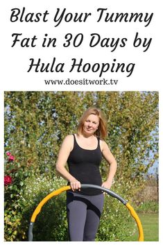 Worried about your tummy fat or middle age spread? I found hula hooping so effective; it works really quickly and with minimum effort! Click through to read more! Care Skin Condition and Treatment Oil Makeup Roller Derby, Weighted Hula Hoops, Hula Hoop Workout, Lower Belly Workout, Fitness Motivation Pictures, Workout Motivation, Workout Results, Health And Wellbeing, Fett
