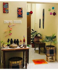 All Indian Home Decor Home Decor Furniture, Home Decor Bedroom, Entryway Decor, Diy Room Decor, Indian Room Decor, Ethnic Home Decor, Colourful Living Room, Indian Living Rooms, Decoration Entree