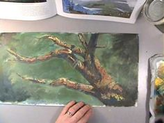 How to Paint Branches