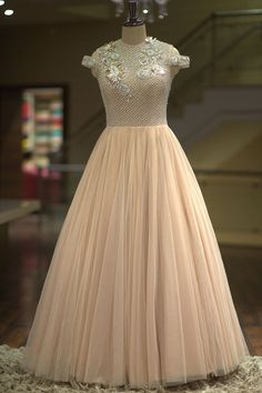 Buy Light Dusty Pink Sequins Embroidered Net Indo Western Gown Online 92a3da35c24