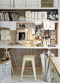 FleaingFrance.....love this work space by simply seleta, via Flickr