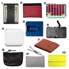 www.littlerugshop.com Coin #pouches #wallets credit card and business #card holders seem to be must-haves for everyone these days and finding a good one isnt easy. Here are 10 of our favorites - which one do you like best? (Visit designmilk.com for all the product links - sources are tagged) by designmilk