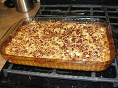 Pumpkin Crisp--One Pinner said-I make this every year for Thanksgiving and it's delicious!