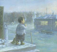 Russian Artist Zhamso Radnaev ~ Blog of an Art Admirer