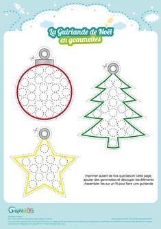L'activité du mercredi : la guirlande de Noël en gommettes https://graphick-kids.fr/lactivite-mercredi-guirlande-de-noel-gommettes/