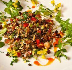Northwest Early Spring Farro & Lentil Salad