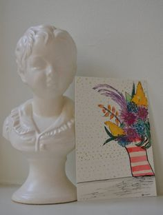 a day maker by DeonnaJanone on Etsy #floralart #floral #flowers #atlart #artyoga #artminis #watercolor #4x6 #abstractart #interiordesign #design #thatsdarling #weloveatl #etsyartist #shopetsy #deonnajanone