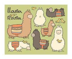 So cute! Lla mas are AWSOME