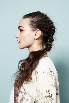 4 super-chic new braided hairstyles you can DIY. Photos by Winnie Au