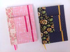 Da laminação do tecido, para a costura das folhas e a encadernação. Produzido por Oky Creative Memories.