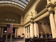 """""""Chicago Union Station"""" in Chicago Illinois  http://route66jp.info Route 66 blog ; http://2441.blog54.fc2.com https://www.facebook.com/groups/529713950495809/"""