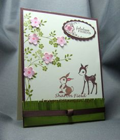 A little Disney for my april card class by sharonstamps - Cards and Paper Crafts at Splitcoaststampers