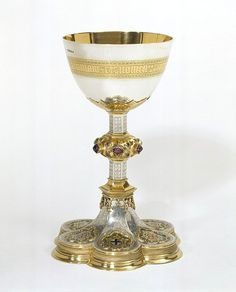 The Great Exhibition Chalice, 1851, Pugin.